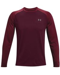 Under Armour Textured Long Sleeve T-Shirt - Violet