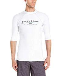 Billabong - All Day Regular Fit Short Sleeve Rashguard - Lyst