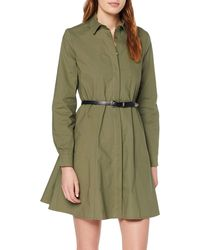 Rinascimento CFC0091374003 Vestito Donna, - Verde
