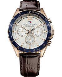 Tommy Hilfiger 51791118 Mens Strap Watch - Metallic