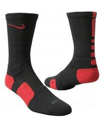 Nike Basketball Crew - Chaussettes - Rouge