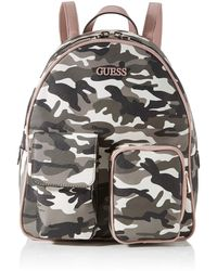 Guess Utility Vibe Large Backpack - Bleu