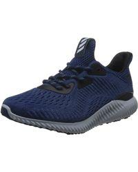 adidas - Alphabounce EM Sport-Schuhe gut gedämpfte Fitness-Schuhe Hallen-Schuhe Trainings-Schuhe Blau - Lyst