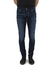 DIESEL Jeans 00s7v Sleenker Bleu