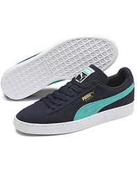 finest selection 200da cb4b2 Suede Classic, Unisex Adults' Low-top Trainers - Blue