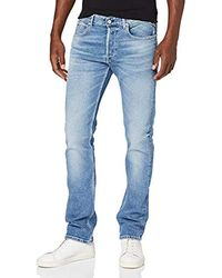 Replay Grover Jeans Tapered Uomo - Blu