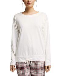 Esprit Single Cas NW OCS Shirt Haut de Pijama - Rouge