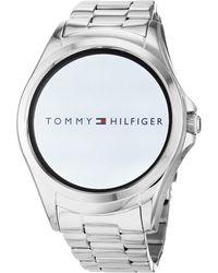 Tommy Hilfiger Digital Montre avec Bracelet en Acier Inoxydable 1781831 - Multicolore