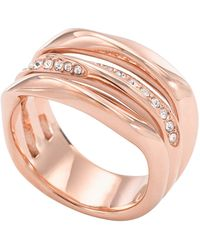 Fossil Ring Jf01321791-505 - Pink