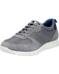 Geox U Damian A Sneaker - Grau