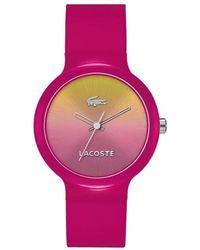 Lacoste - Montre Mixte - Quartz Analogique - Bracelet Silicone - Lyst