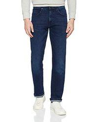 Wrangler Jeans - Blau