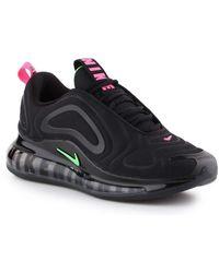 air max 720 black neon streaks