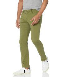Amazon Essentials Slim-Fit Stretch Jean Vaqueros - Verde
