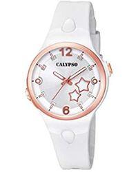 Calypso St. Barth S Analogue Classic Quartz Watch With Plastic Strap K5745/1 - Multicolour