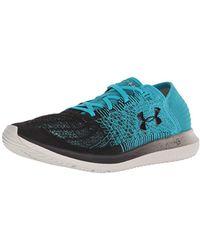 Under Armour Threadborne Blur 3000008-3, Chaussures de Running - Bleu