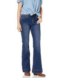 Wrangler - Retro Premium High Waist Trouser Jeans - Lyst