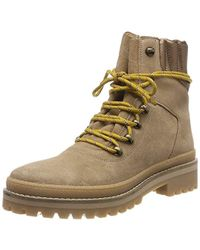 Tommy Hilfiger - Modern Hiking Boot Suede Combat - Lyst