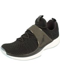 Nike Air Jordan Trainer 2 Flyknit s Basketball Trainers 921210 Sneakers Chaussures (EU 43 - Noir