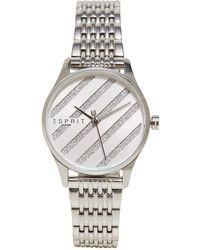 Esprit Es1l029m0045 E.asy Silver Mb Ladies Watch - Metallic