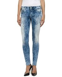Replay - Damen Skinny Jeans Luz - Lyst