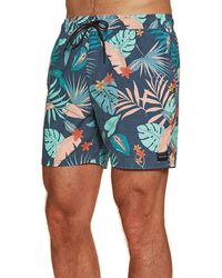 Rip Curl Beach Party Volley S Swim Shorts Large Navy - Blue