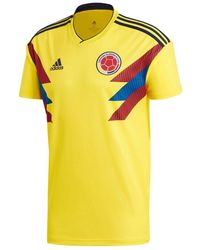 adidas Soccer Colombia Jersey - Jaune