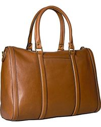 Fossil Kendall Satchel - Brown