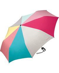Esprit Taschenschirm Easymatic 3 - Mehrfarbig