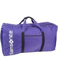 Samsonite Tote-a-ton 32.5-inch Duffel Bag - Purple
