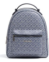 Tommy Hilfiger - Iconic Tommy Backpack Monogram Blue Ink - Lyst