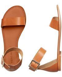 Vero Moda VMELSA Leather Sandal - Multicolore