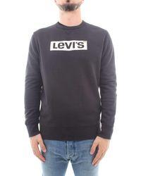 Levi's Graphic Crew B Sweater Black - Schwarz