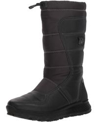 Ecco Exostrike Gore-tex Tall Snow Boot - Black