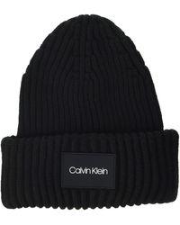 Calvin Klein Beanie Chapeau - Noir