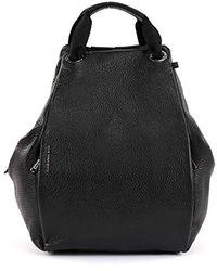 Mandarina Duck - Mellow Leather Backpack Nero - Lyst