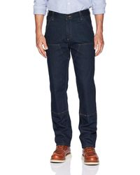 Carhartt Rugged Flex Relaxed Fit Double-front Utility Jean - Blue