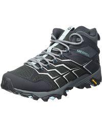 Merrell Moab Fst 2 Mid Gtx Walking Shoe - Black