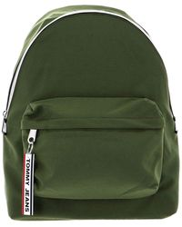 Tommy Hilfiger - Tjm Logo Tape Backpack Cypress - Lyst