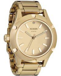 Nixon A343502 Wrist Watch - Yellow