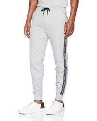 Tommy Hilfiger Track Pant HWK Bas De Pyjama Homme - Gris