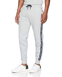 Tommy Hilfiger Track Pant HWK Bas De Pyjama - Gris