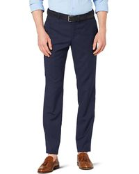 Tommy Hilfiger Tailored Suit Trousers Stssld99003 - Blue