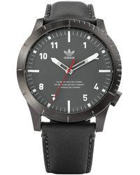 adidas Watches Cypher_lx1. 's Premium Horween Leather Strap Watch - Multicolour