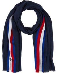 Tommy Hilfiger Corporate Stripe Scarf Echarpe - Bleu