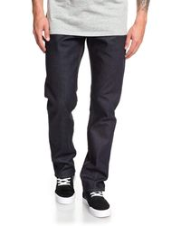 Quiksilver Straight Fit Jeans - Blue