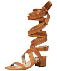 Brother Vellies - Burna 85 Inch Wrap Dress Sandal - Lyst