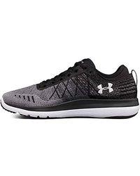 Under Armour UA Threadborne Fortis, Chaussures de Running Homme - Noir