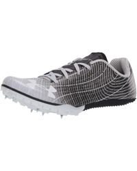 Under Armour Adult Kick Sprint 3 Running Shoe - Metallic