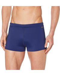 Meraki Amazon Brand - Men's Jammers, Blue (navy), S, Label:s